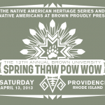 12th Annual Spring Thaw Pow Wow - Shirt Design