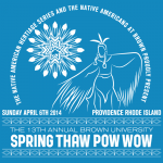 13th Annual Brown University Spring Thaw Powwow - Official Shirt Design